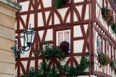 Fachwerk house in Mainz Stock Photography