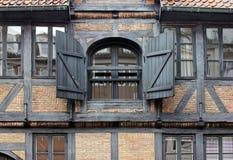 Fachwerk House Windows Stock Photos