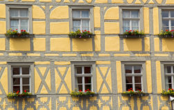 Fachwerk style medieval house. In Bamberg, Germany Stock Images