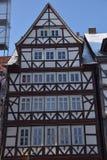 Fachwerkhäuser in Hann Mï-¿ ½ nden Stockbild