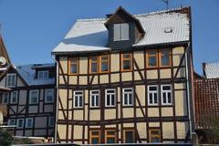 Fachwerkhäuser in Hann Mï-¿ ½ nden Lizenzfreies Stockfoto