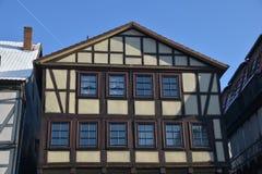 Fachwerkhäuser in Hann Mï-¿ ½ nden Stockfotografie