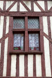 Fachwerkhaus in Blois Stockfotografie