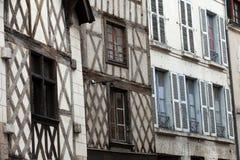Fachwerkhaus in Blois Lizenzfreies Stockfoto