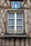 Fachwerkhaus in Blois Stockbild