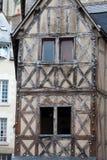 Fachwerkhaus in Blois Stockfotos