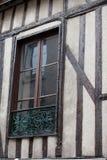 Fachwerkhaus in Blois, Loire Valley, Lizenzfreie Stockfotos
