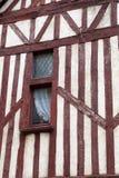 Fachwerkhaus in Blois, Loire Valley, Stockbild