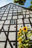 Fachwerkhaus in Quedlinburg Deutschland Stockbild