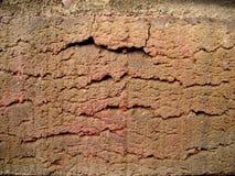 Facia av en tegelsten Arkivbild
