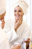 Facial care Royalty Free Stock Image