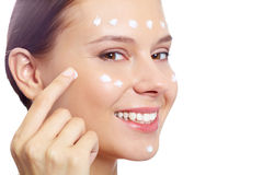 Facial care Stock Image