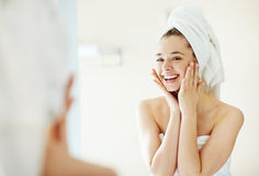 Facial care stock photos