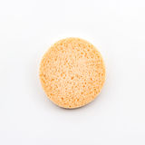Facial cellulose sponge. Stock Photography