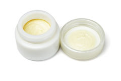 Facial Cosmetic Cream Stock Images