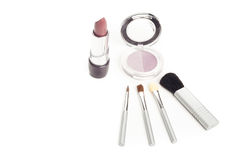 Facial cosmetics set Royalty Free Stock Photography