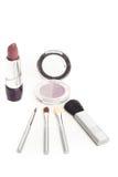 Facial cosmetics set Stock Images