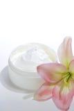 Facial Cream. Close up of facial cream Stock Photos