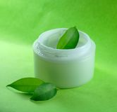 Facial cream Royalty Free Stock Images