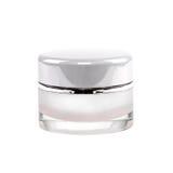 Facial cream jar. Beauty concept Stock Photography