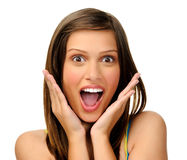 Facial expression Stock Images