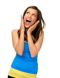 Facial expression Royalty Free Stock Images