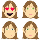 Facial expression Royalty Free Stock Image