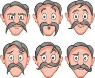 Free Facial Expressions 1 Stock Photography - 37678212