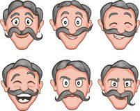 Free Facial Expressions 2 Royalty Free Stock Image - 37679346