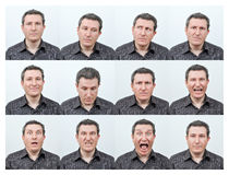 Free Facial Expressions Royalty Free Stock Photography - 29125547