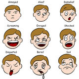 Facial Expressions Stock Photography