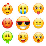 Facial expressions emotions. Stock Photography