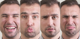 Facial expressions Royalty Free Stock Images
