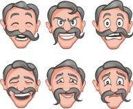 Facial expressions 10 Stock Photos