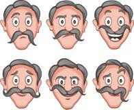 Facial expressions  4 Royalty Free Stock Photo