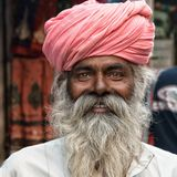 Facial Hair, Turban, Man, Dastar Stock Photo