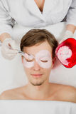 Facial mask Stock Photos