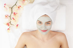 Facial mask. Royalty Free Stock Images