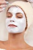 Facial mask. XXXL Royalty Free Stock Photo