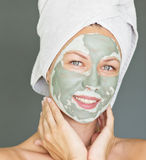 Facial mask Stock Photo