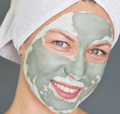 Facial mask Stock Photography