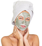 Facial mask Stock Images