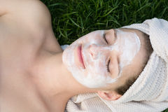 Facial mask Royalty Free Stock Photography