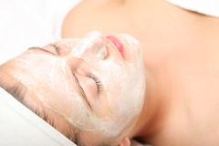 facial maska zdjęcie stock