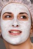 facial maska Zdjęcia Stock