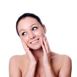 Facial massage Stock Photography