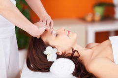 Facial massage Royalty Free Stock Photos