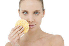 Facial skincare Stock Photo