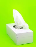 Facial tissue Stock Photo