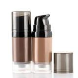 Facial Tone Cream do tubo Foto de Stock